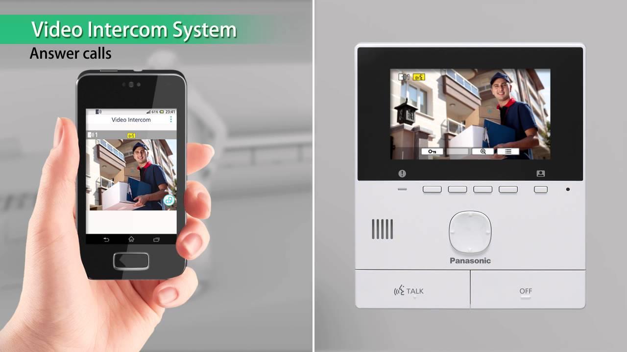 Panasonic Video Intercom A Amp V M Sdn Bhd